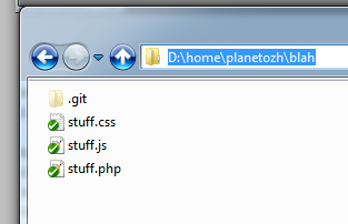 So, I've Tried Git  And it's… « planetOzh