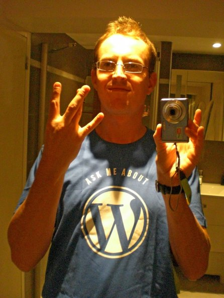 WordPress Shirt (click for full image)